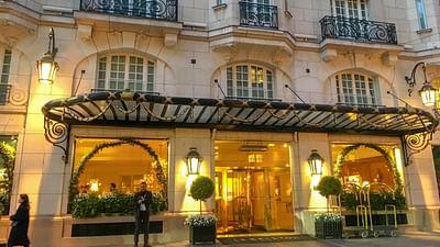 Hotel Le Bristol w Paryżu