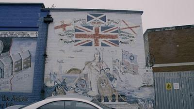 Murale w Irlandii Północnej