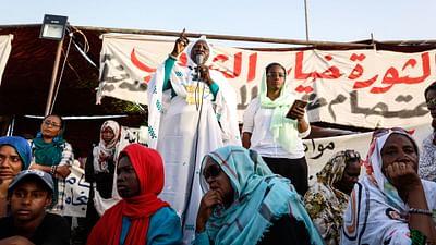Sudan: Kobiety w pierwszym szeregu