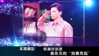 Cui Yongyuan, krytykant