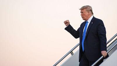 Portret Donalda Trumpa