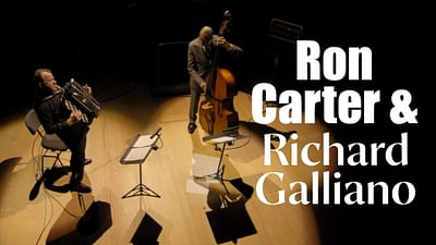 Richard Galliano i Ron Carter