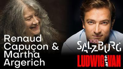 Koncert Marthy Argerich i Renauda Capuçona