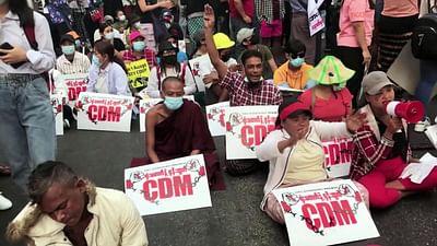 Birma, odwaga narodu